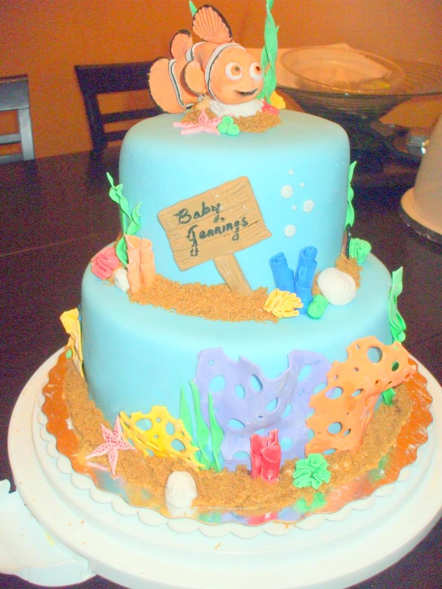 finding nemo cake by golden phoenix0 0 on deviantart