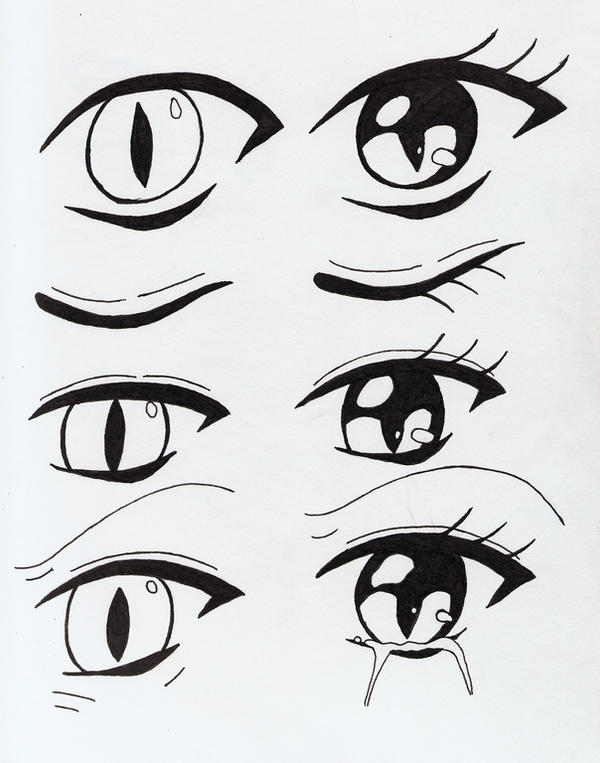cat eye coloring pages - photo#20
