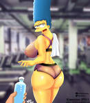 Marge GYM by delta26drawing