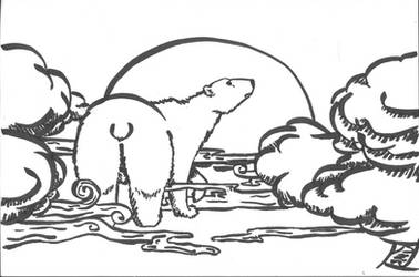 Zooly Challenge 07-10-17 polar bear