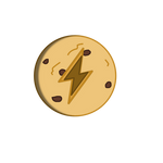 Th lightning cookie (use in discription) by Scientificaia