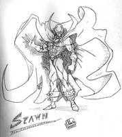 Spawn sketch by Coleman