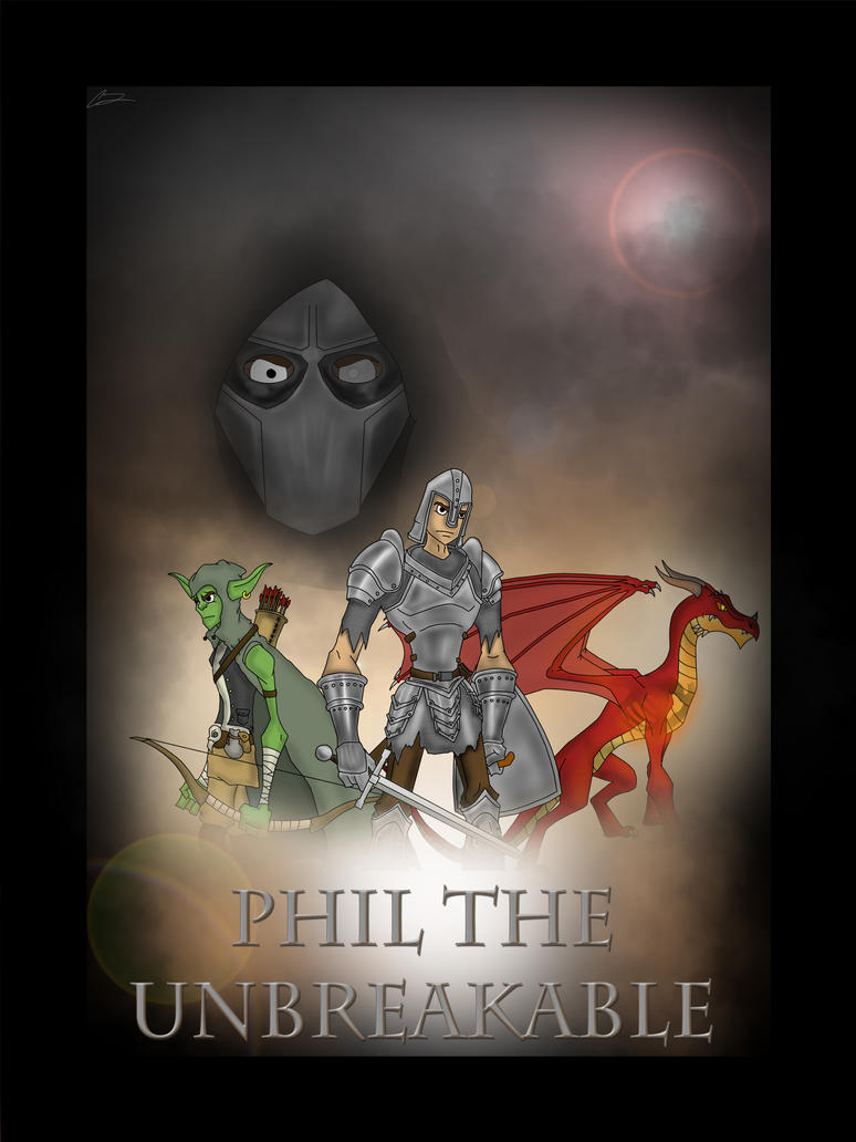 Phil the Unbreakable Poster Mockup by Royalty-Doc