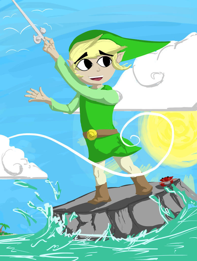 Wind Waker: East Wind by Royalty-Doc