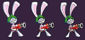 Rabbit Gunner by Grynz