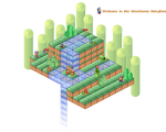 The Mushroom Kingdom Isometric