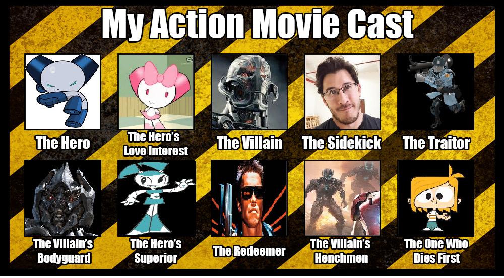 Action Movie Meme by jerotam