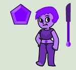(steven universe OC) tanzanite