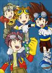 Digimon Googled Boys