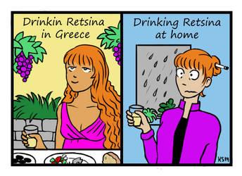 Dork for Life I : Retsina by Melosyna