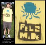 Felzmade Tshirt :: octo again