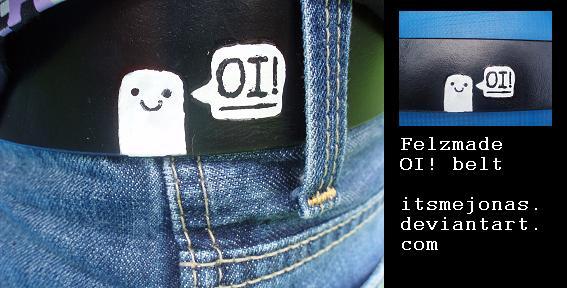 Felzmade OI belt by ItsmeJonas