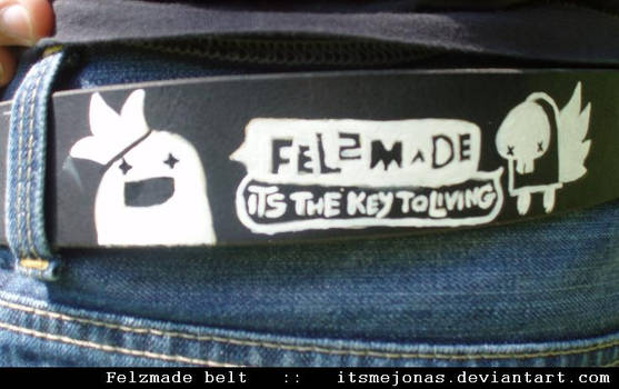 Felzmade belt by ItsmeJonas