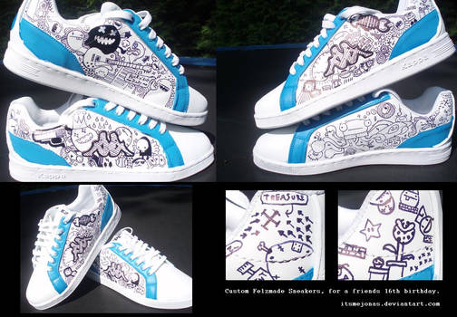 Custom Felzmade Sneakers