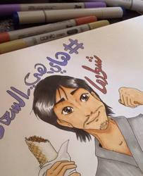Mansourjp fanart by Zazi-chan