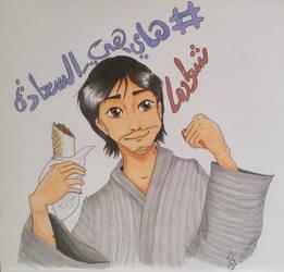 Mansourjp fanart full drawing  by Zazi-chan