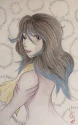 Ghost - art trade  by Zazi-chan