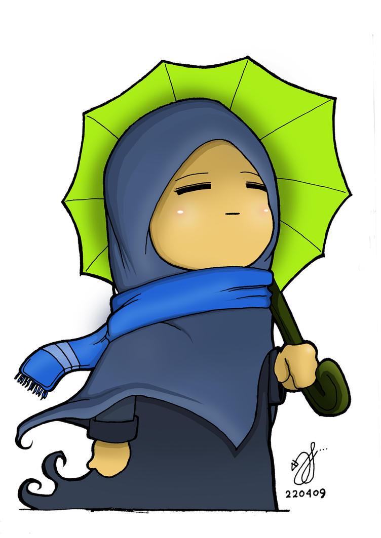 I love Rain by syfArt