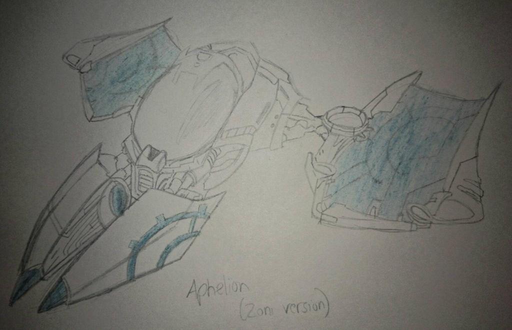 Aphelion Sketch by YellowDizzyLombax