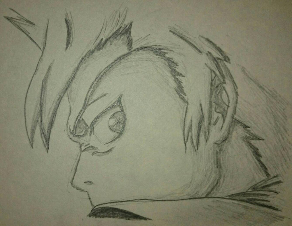 Toshiro Sketch by YellowDizzyLombax