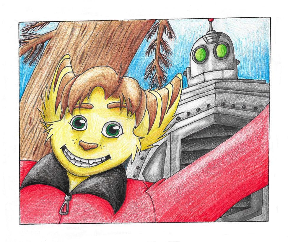 The Iron Clank by YellowDizzyLombax
