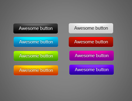 Colore buttons glossy by Indriks