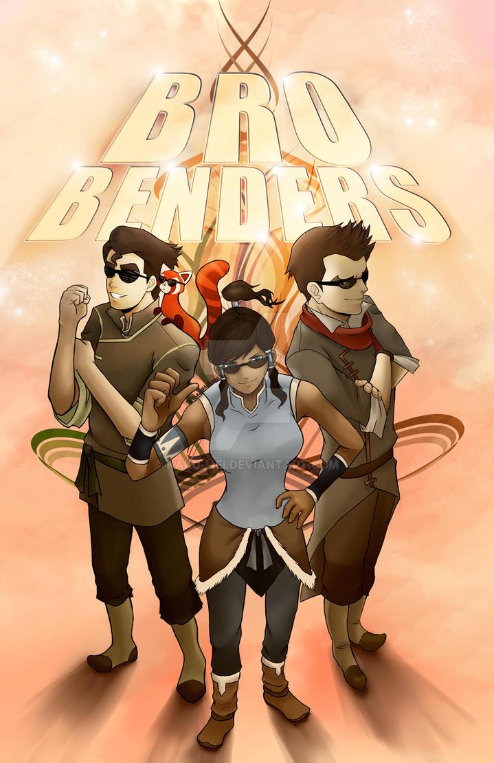 LoK: BRO Benders by Kaku-Mei