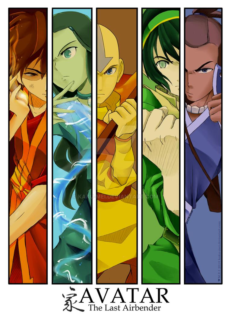 AVATAR: The OG Squad by Kaku-Mei