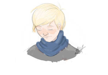 Scarf turtle neck by LostS0cK