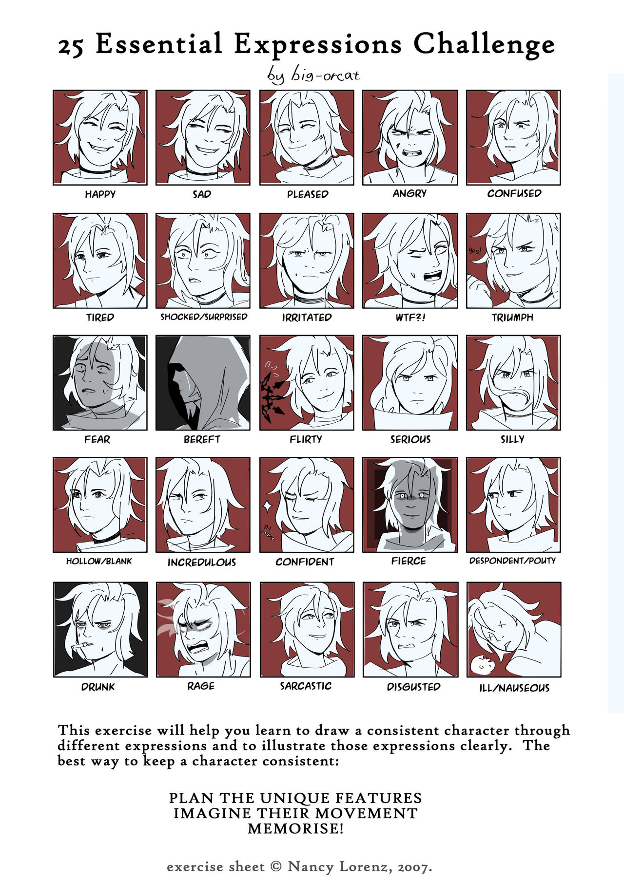 25 Expressions Challenge with Ruby Rose