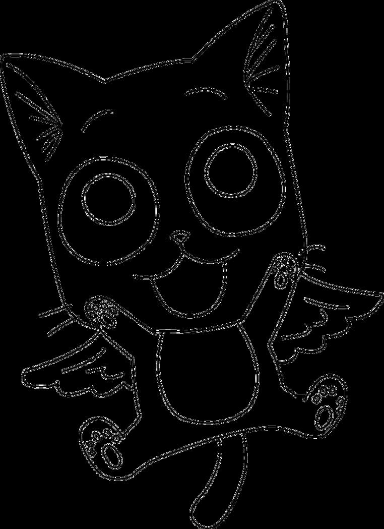 Happy Fairy Tail Lineart By ZeroooArt On DeviantArt