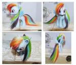 Rainbow Dash Toy by tertunni