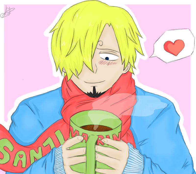 Hot chocolate by Mugiwara-no-Lari