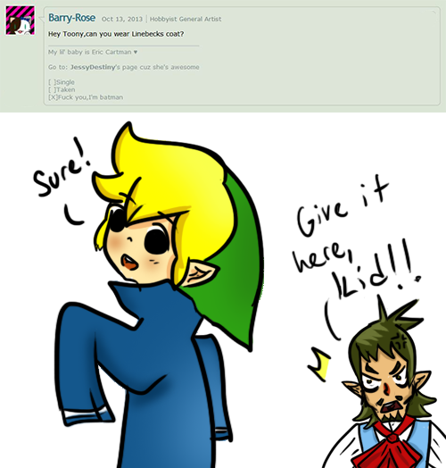 hentai gay link comics Legend zelda of