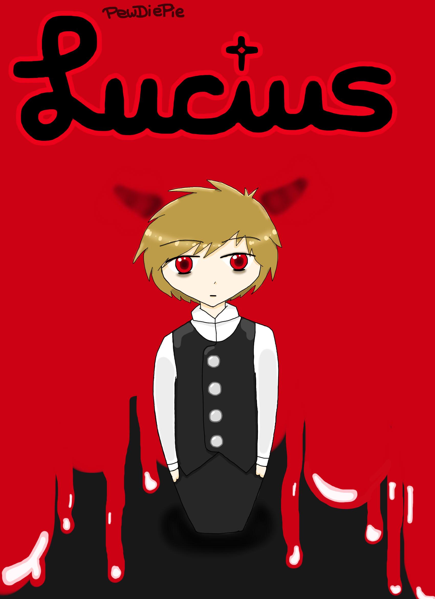 PewDiePie - Lucius - Blood Curtain by LariCat