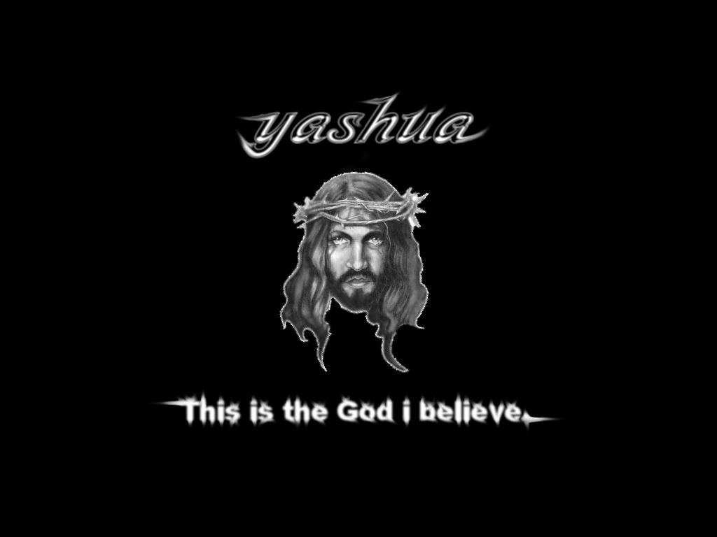 god yashua by yashua