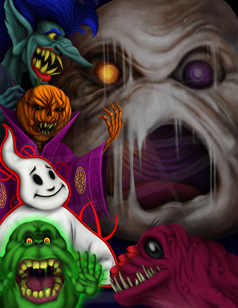 The Real Ghostbusters Non-corporeal Nuisances 2020