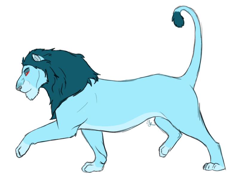 Lionized Thrawn by NokaWolf