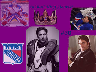 Henrik Lundqvist Wallpaper by Vampirequeen10