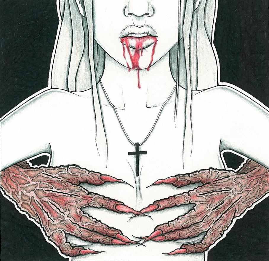 Ave Satan by ALINASILLUSTRATION