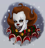 Festive Pennywise by Alien-Rat