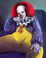 90's Pennywise by Alien-Rat
