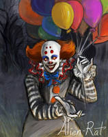 Book Pennywise by Alien-Rat