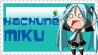 Hachune Miku Stamp by RuukuxP