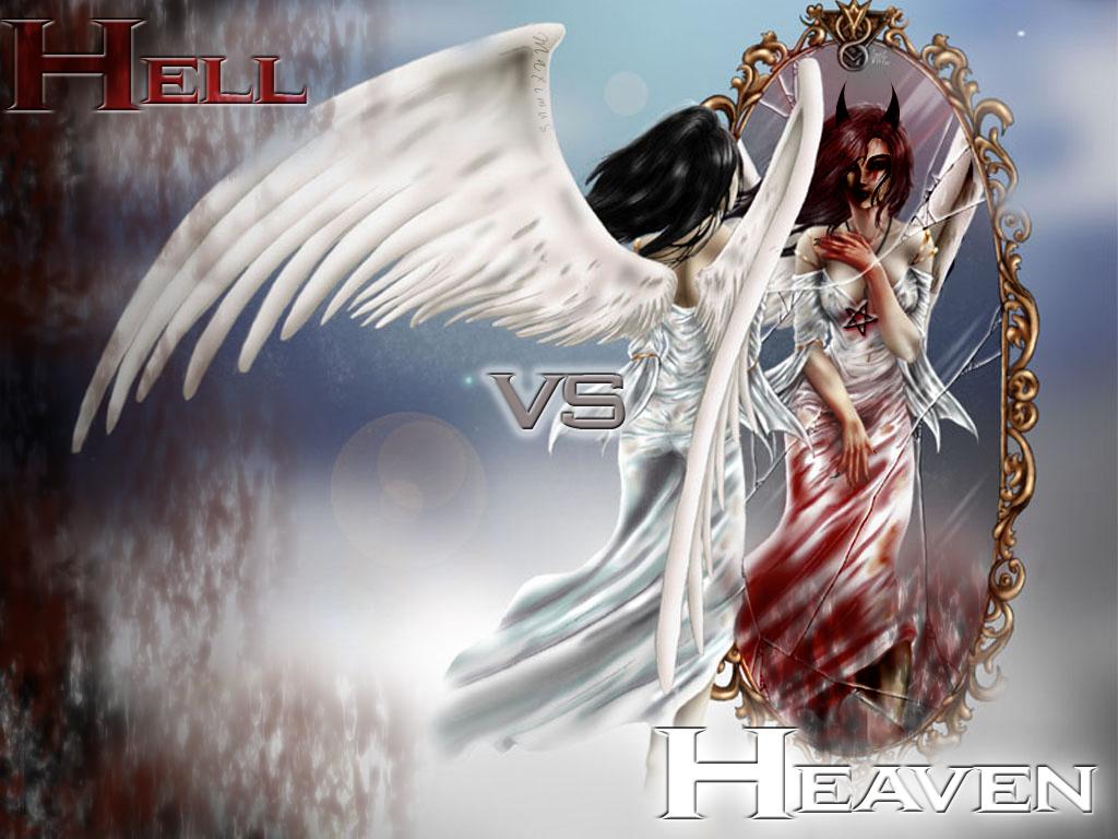 heaven vs hell art - photo #7