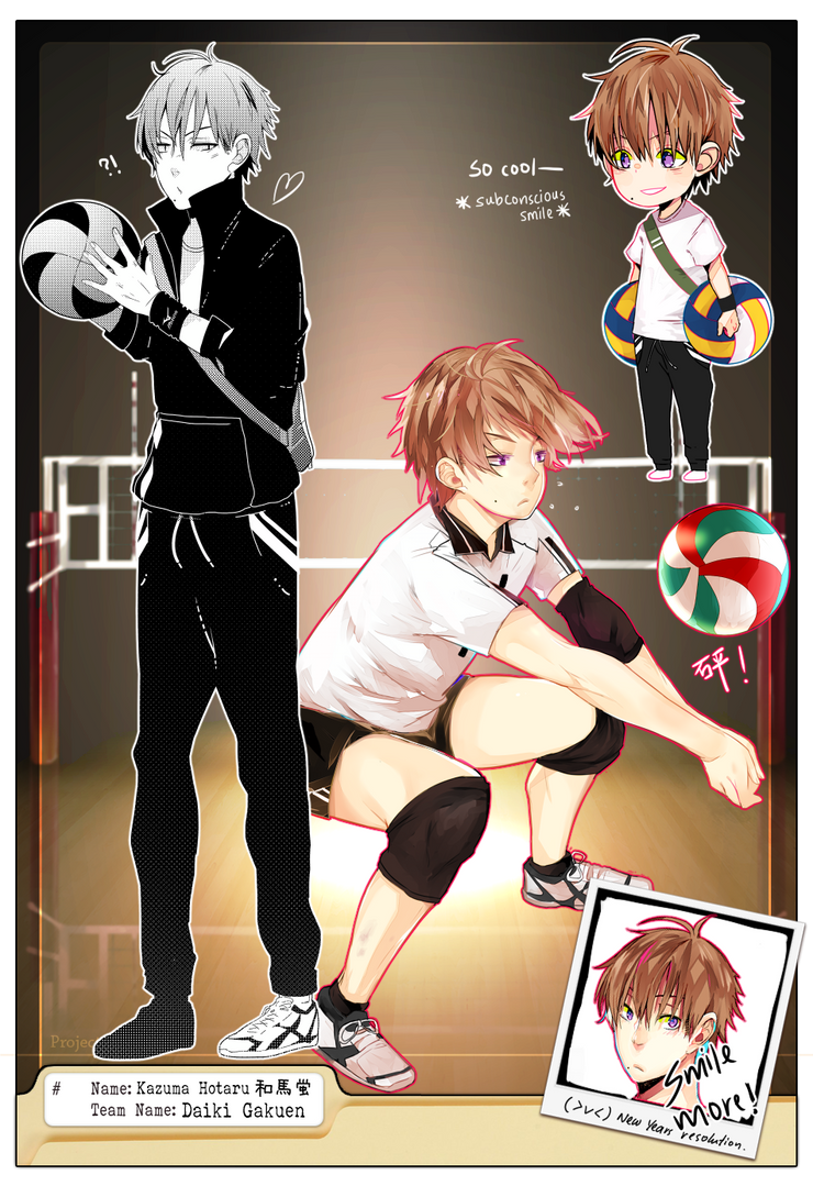 {PROJECT OK} Kazuma Hotaru by h-0
