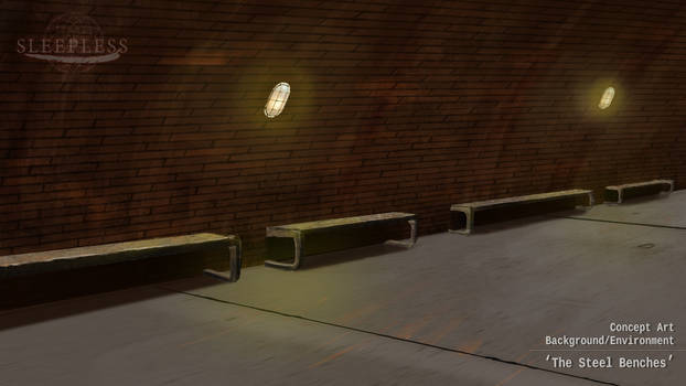 Concept Art - The Steel Benches