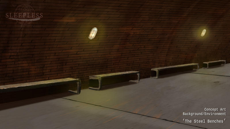 Concept Art - The Steel Benches by SpringchildStudio