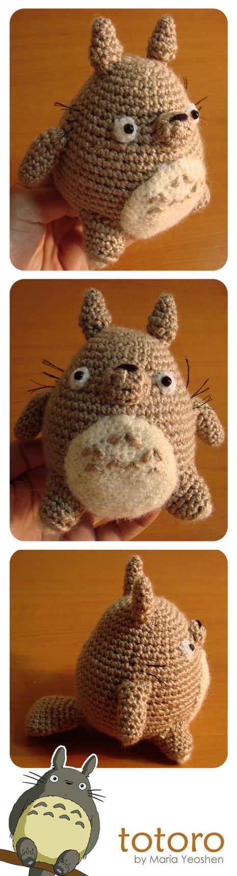 Totoro Amigurumi by TENKULA on DeviantArt