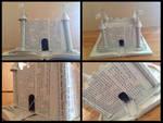 Book Art - Castle